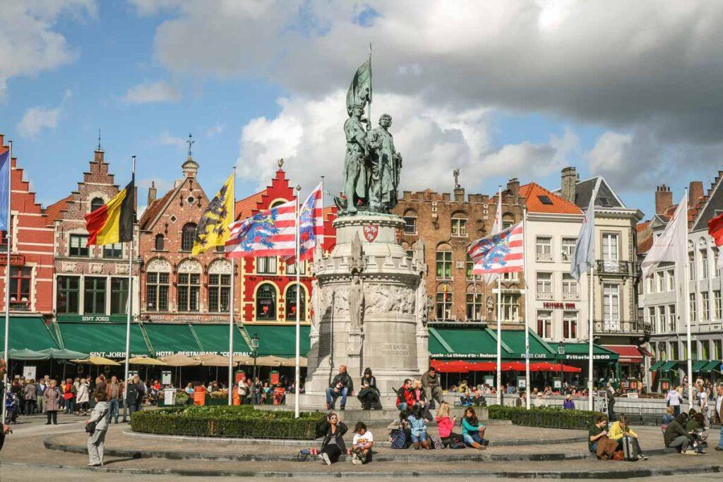 Cosa fare a Bruges. La cittá incantata delle Fiandre