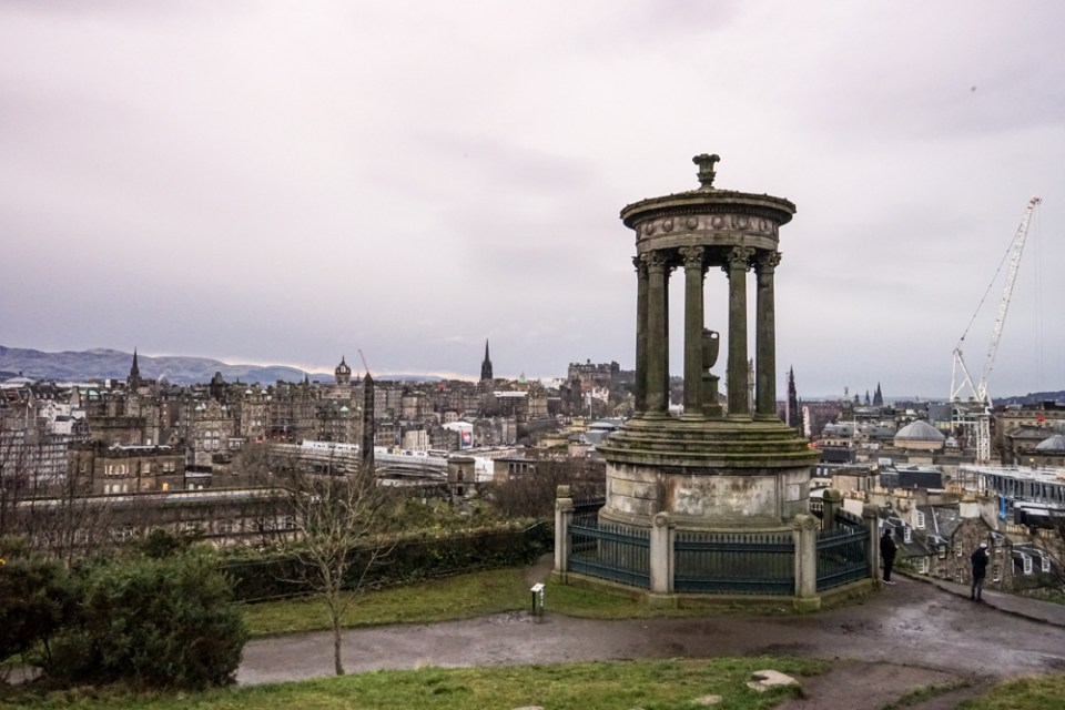 Visitare Edimburgo.Cittá di fascino e mistero