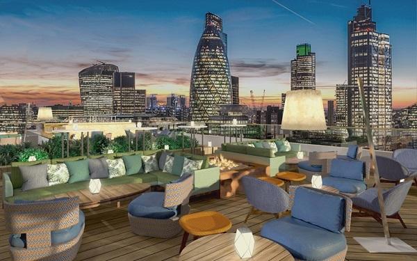 migliori rooftop bar di londra